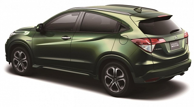 Honda City Launch Date >> First look at Honda Vezel Compact SUV, set for India launch in end-2014