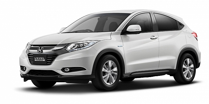 first look at honda vezel compact suv set for india launch in end 2014. Black Bedroom Furniture Sets. Home Design Ideas