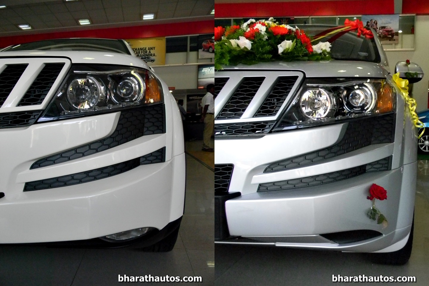 Mahindra Xuv500 W8 And W4 Side By Side Visual Comparison