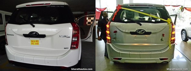 mahindra-xuv500-w8-and-w4-side-by-side-visual-comparison-rear-end