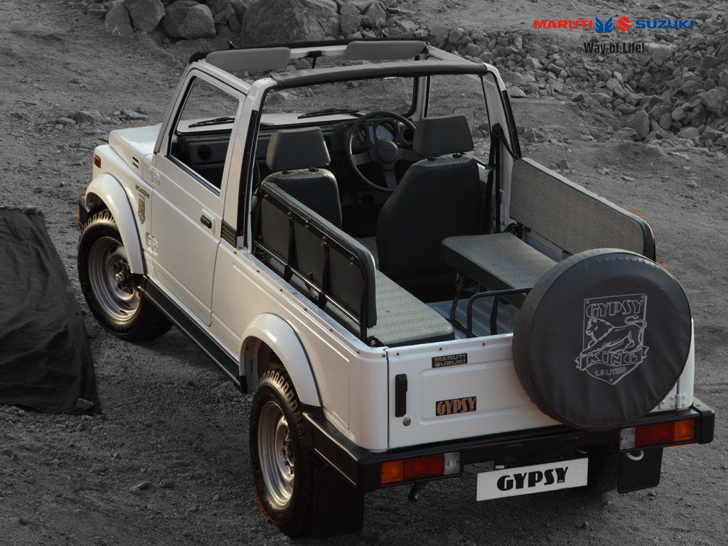 Maruti Gypsy To Get A Major Upgrade Soon Adds Diesel To