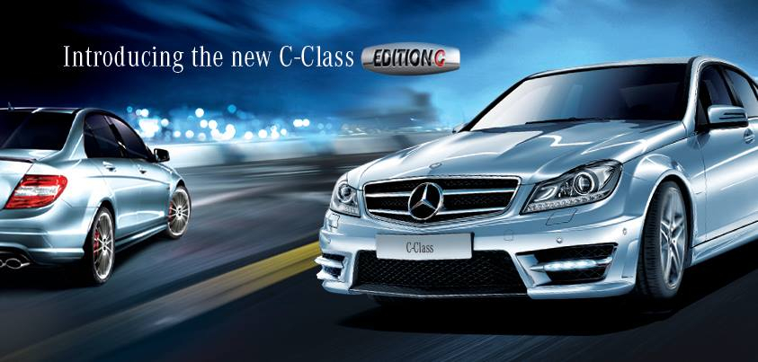 mercedes benz c class edition 39 c 39 only 500 to be made and just for india. Black Bedroom Furniture Sets. Home Design Ideas