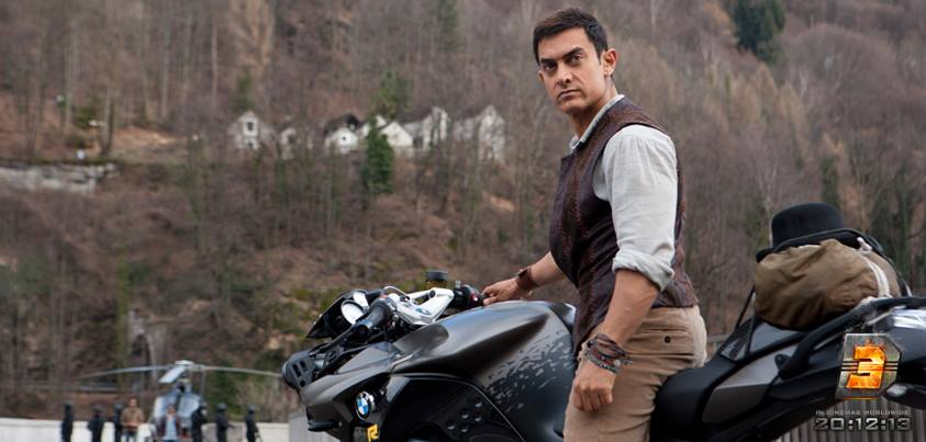 Dhoom 3 Movie Features Bmw Motorrad Superbikes Bmw D 3