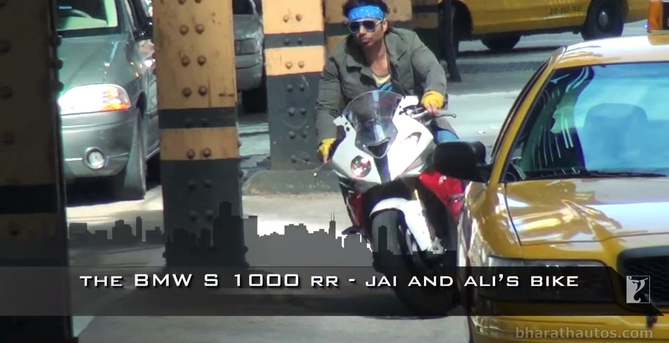 Let S See The Awesome Bmw Superbike Stunts In Dhoom 3 Movie Video