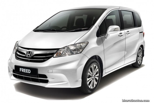 honda-freed-mpv-india-front-view