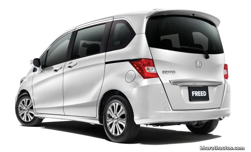 Honda To Display Freed Mpv At The Upcoming Auto Expo In