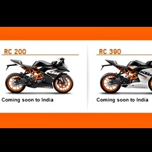 Ktm S Official Website Confirms The Arrival Of Rc 200 And Rc 390 To India