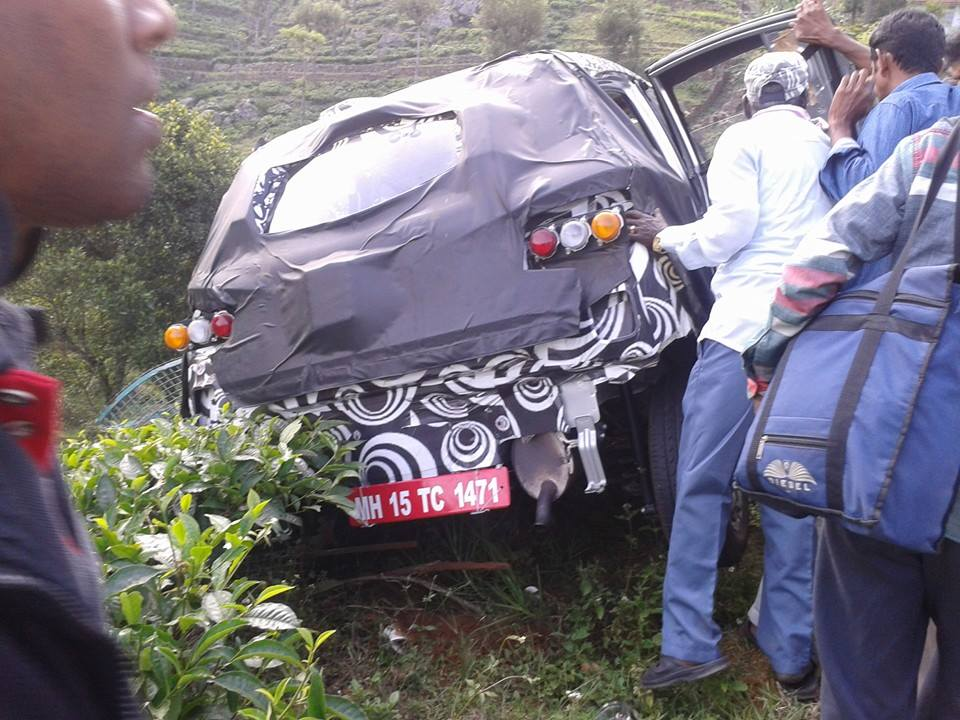 Mahindra S101 Compact Suv Crashed While Testing 4 Years