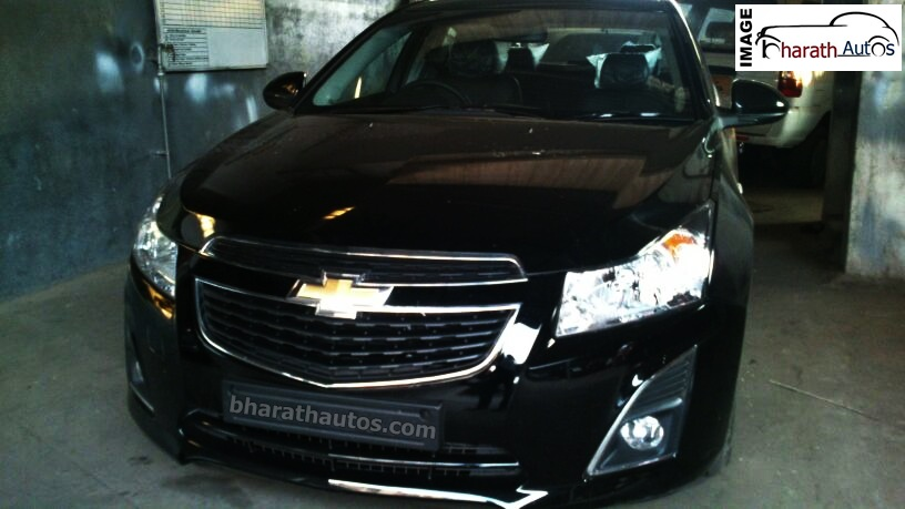 Black Chevy Cruze >> Chevrolet Cruze facelift reaches dealer yard in Mangalore