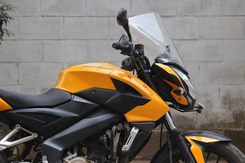 Bajaj Pulsar 200NS touring accessories – with pictures and details
