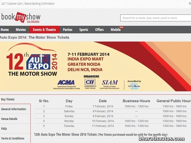 bookmyshow-com-chosen-ticketing-agent-upcoming-auto-expo-online-bookings-now-open