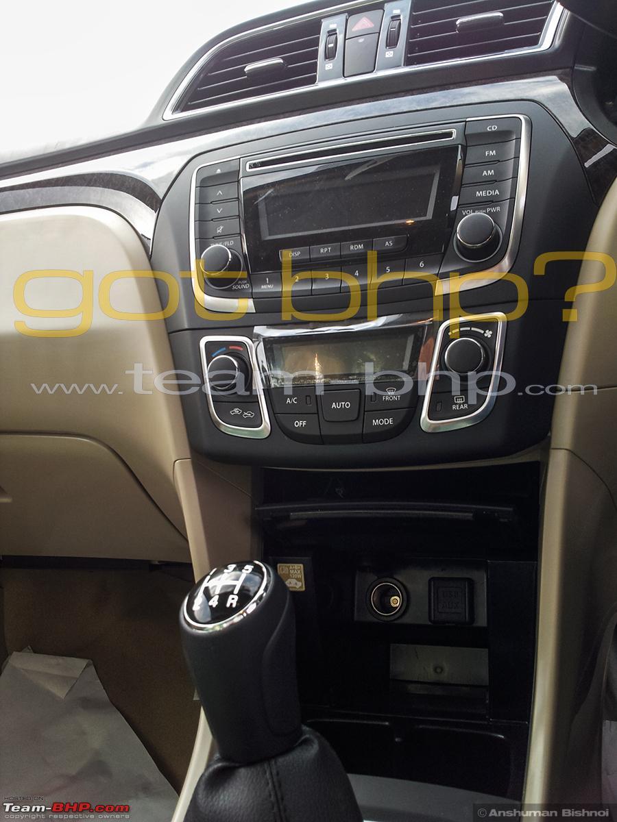 Spy Shots Maruti Suzuki Ciaz Exposed Before Launch