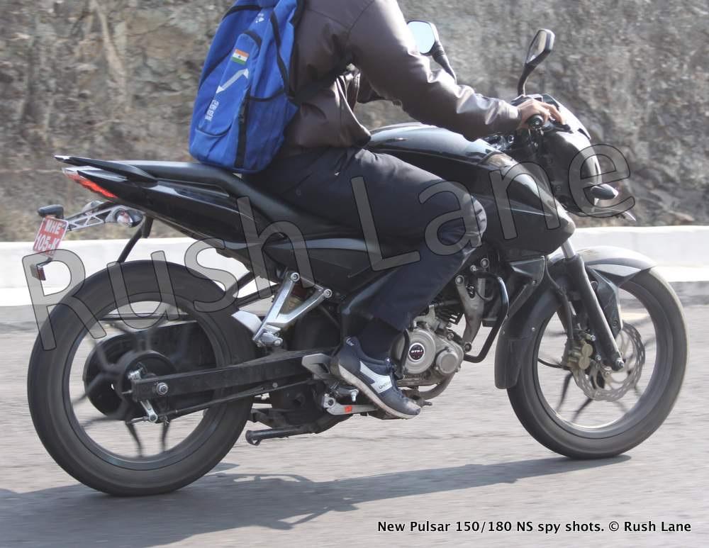 New Bajaj Pulsar 150 180 Ns Spyshots Show A Downsized 200 Ns