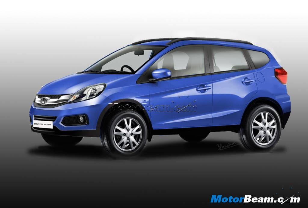 Honda Brio Based Affordable Compact Suv Computer Rendering