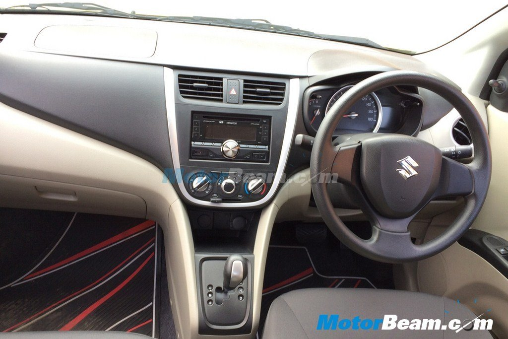 spy shots maruti celerio interior revealed similar to a wind concept. Black Bedroom Furniture Sets. Home Design Ideas