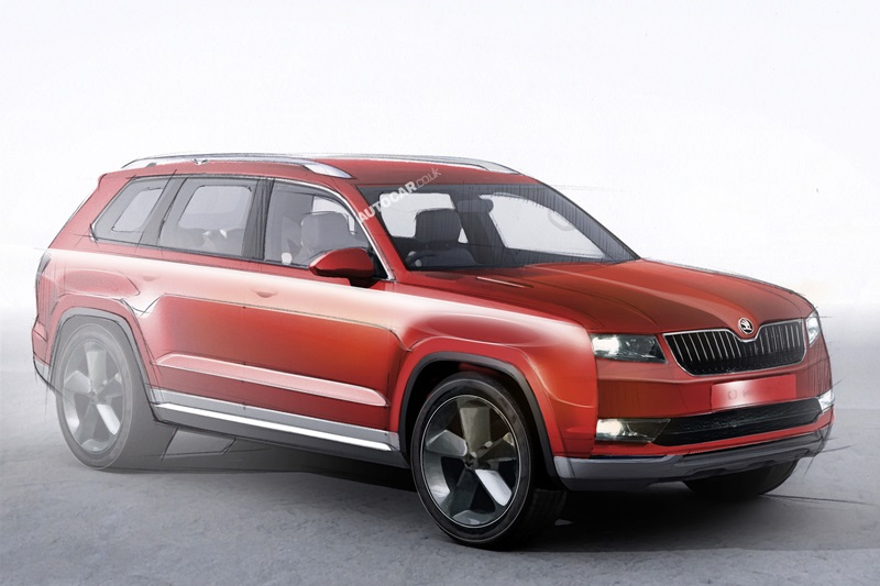new skoda large suv confirmed for 2016 related to volkswagen crossblue. Black Bedroom Furniture Sets. Home Design Ideas