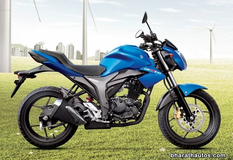 Suzuki Gixxer 250 now available in a new paint scheme