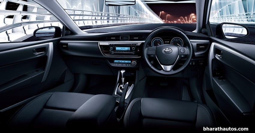2014 Auto Expo Toyota Launches The All New Corolla Altis Gets Completely Redesigned Interior