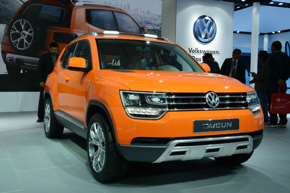 2014 Auto Expo Production Vw Taigun Planned For 2016