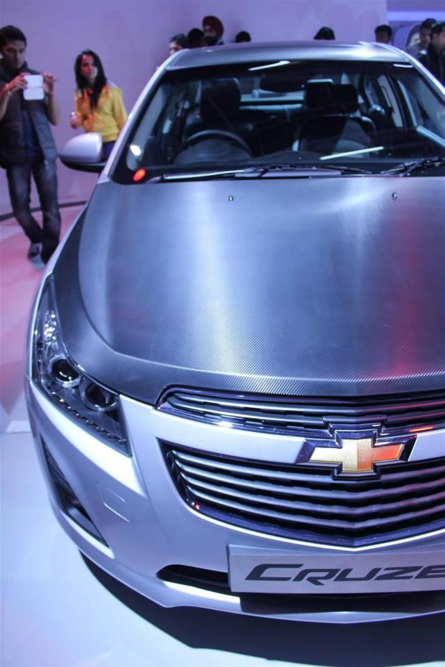2014 Auto Expo Gm Showcases Chevrolet Cruze Stealth