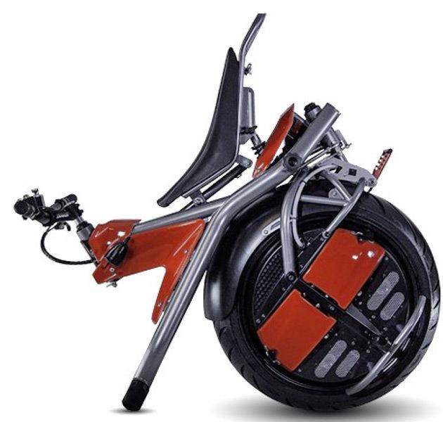 Self Balancing One Wheeled Electric Motorcycle Named Ryno