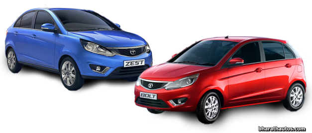 tata-motors-bolt-hatch-and-zest-compact-sedan