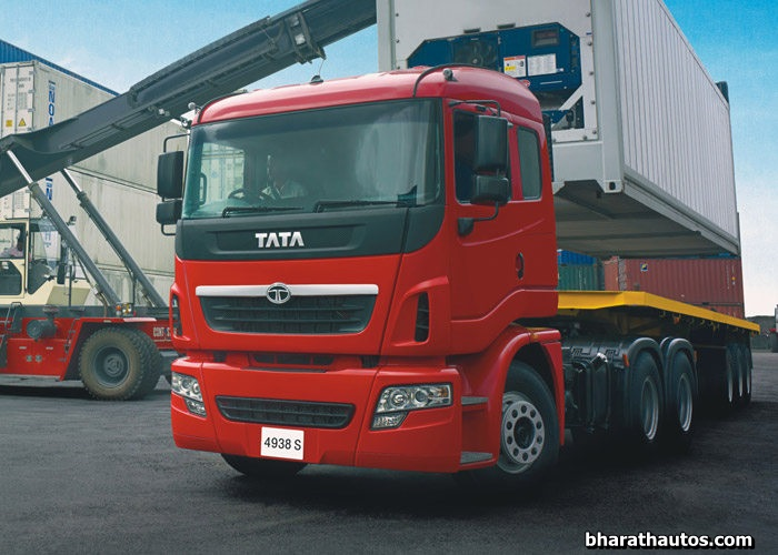 tata motors launched 10 new prima lx trucks for affordable yet modern trucking. Black Bedroom Furniture Sets. Home Design Ideas