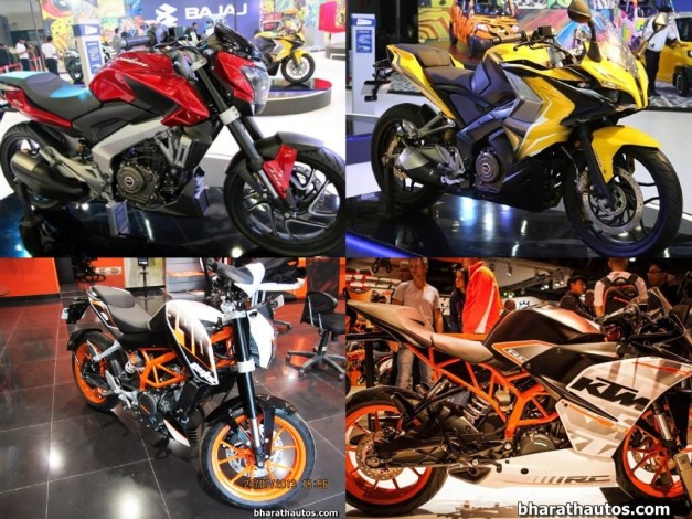 ktm-duke-rc-390-vs-bajaj-pulsar-ss-cs-400-india