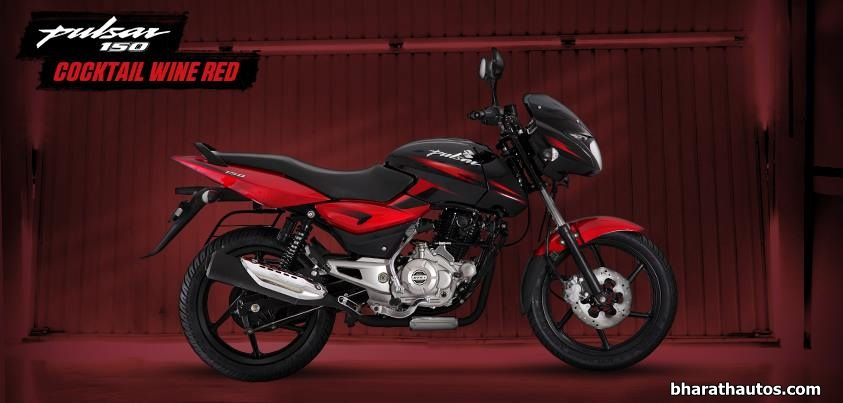 Pulsar series gets three new dual-tone paint schemes