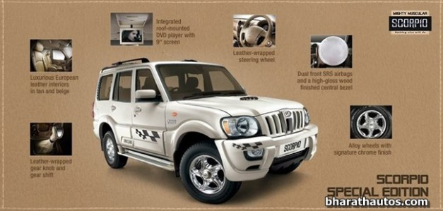 Mahindra-Scorpio-Special-Edition-features