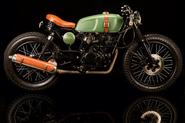 Pulsar  Modified To Cafe Racer