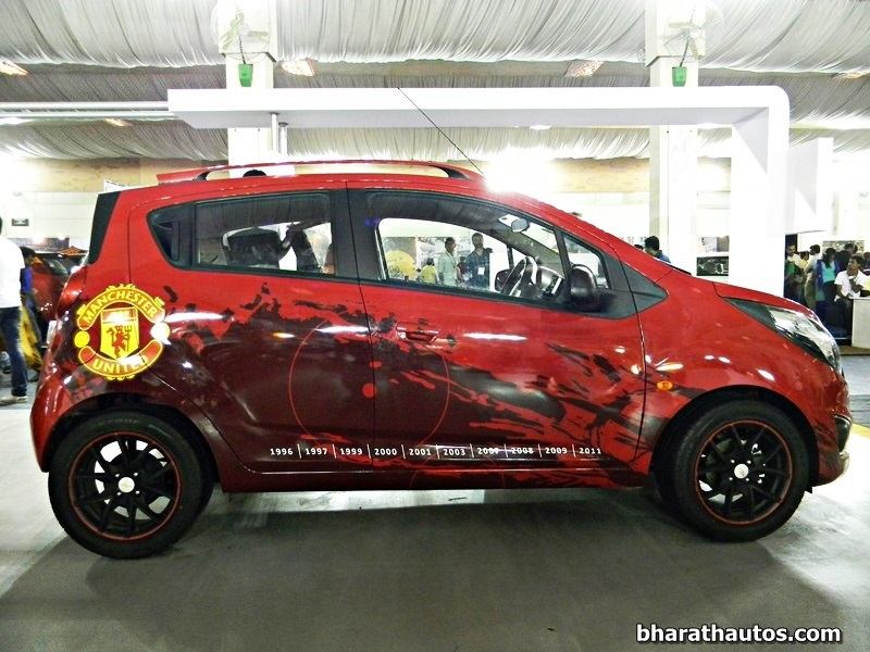 Gm India To Launch Chevrolet Beat Manchester United