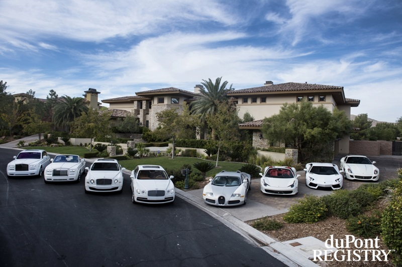 A Very Impressive Car Collection By Floyd Mayweather