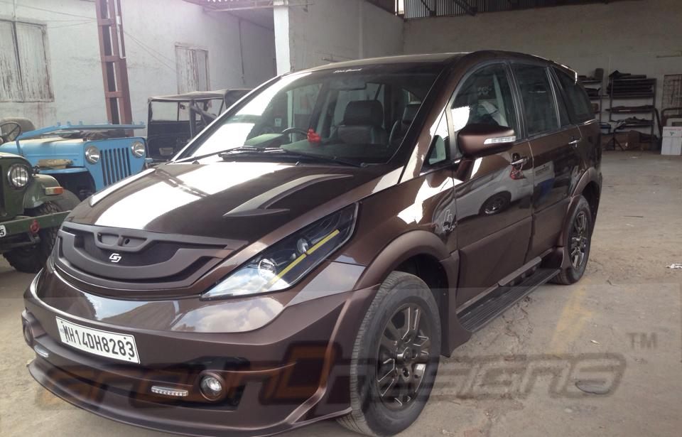 Grounddesigns Pune Modifies Tata Aria