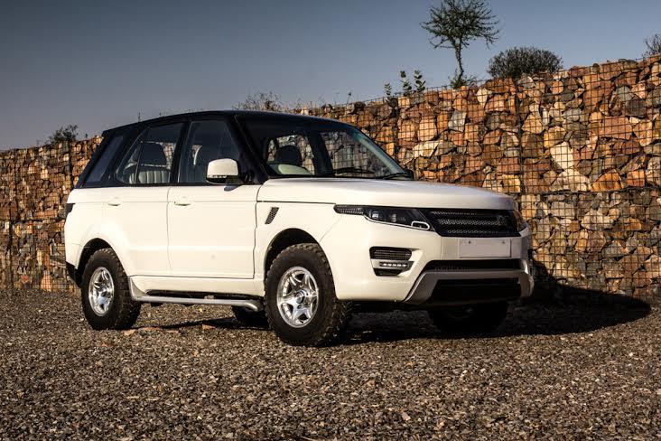 Tata Safari Modified Into A Range Rover Evoque