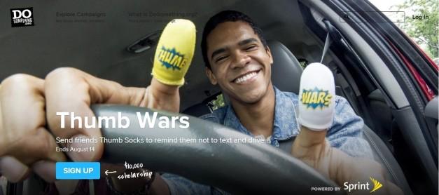 thumb-socks-don't-texting-driving