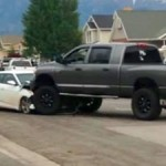 driver-heroic-dodge-ram-recently-stopped-dangerous-police-chase-now-getting-truck-repaired