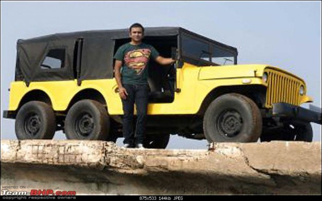 mahindra-stretched-mm-540-6x6-jeep-yellow
