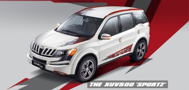 Mahindra xuv500 sportz launched at rs lakh limited for Xuv 500 exterior modified