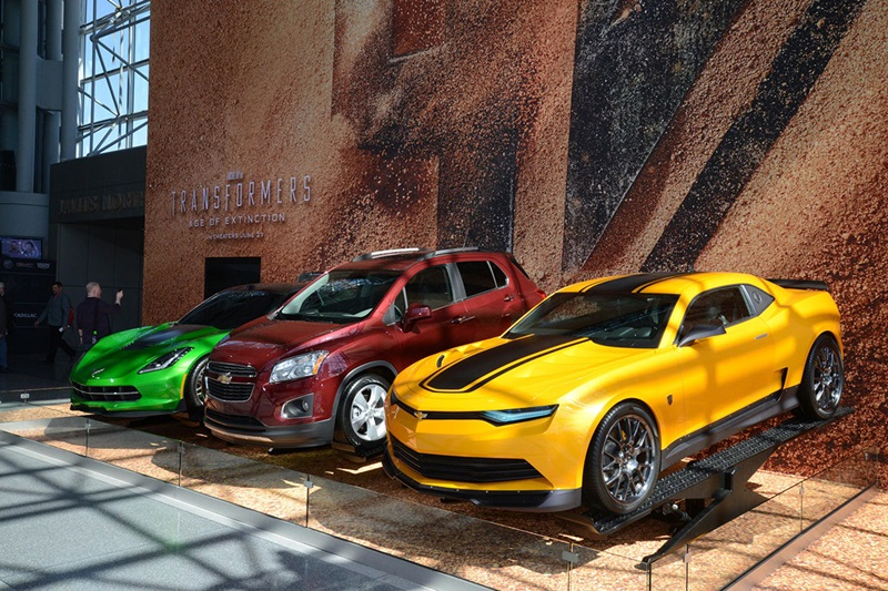 Bumblebee Camaro Bulks Ups In Transformers Age Of Extinction