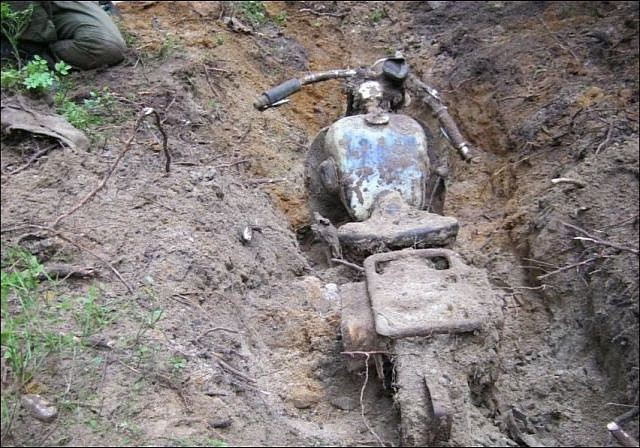 A World War Ii Treasure Found Buried In The Forest