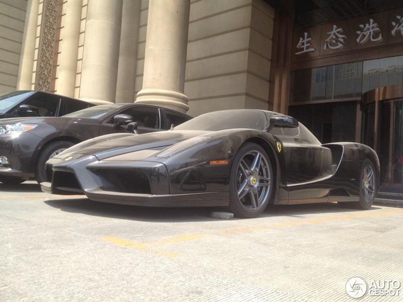 An Abandoned Ferrari Enzo Found In China