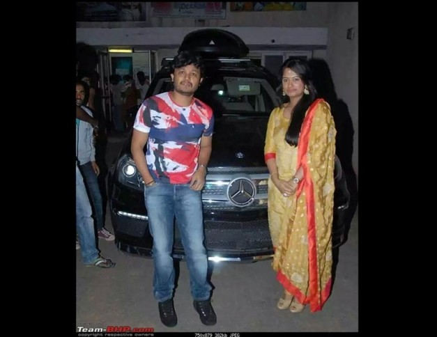 comedy-time-ganesh-wife-gift-mercedes-gl-350-amg-birthday