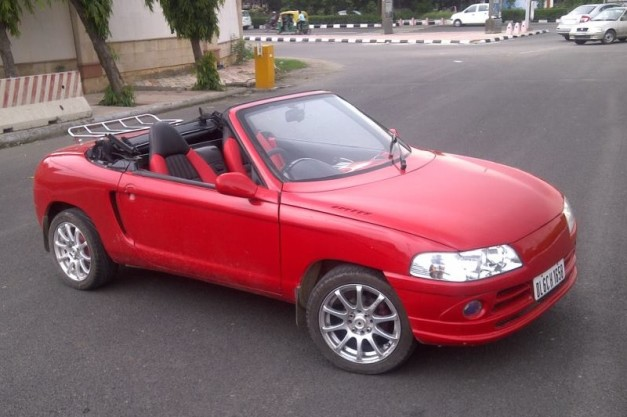 js-design-modified-maruti-800-convertible-front-view
