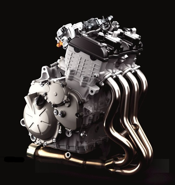 Yamaha 4 Cylinder Motorcycle Engine