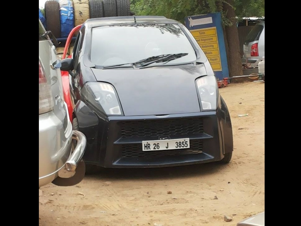 This Modified Daewoo Matiz will surely attract many