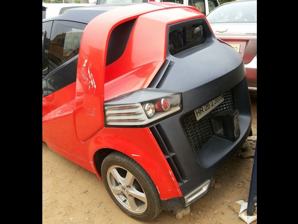 modified-daewoo-matiz-rear-view - BharathAutos - Automobile News Updates