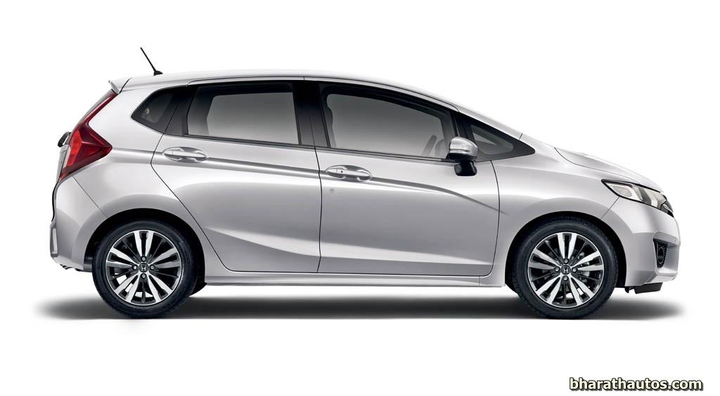 2014 Honda Jazz Side Bharathautos Automobile News Updates