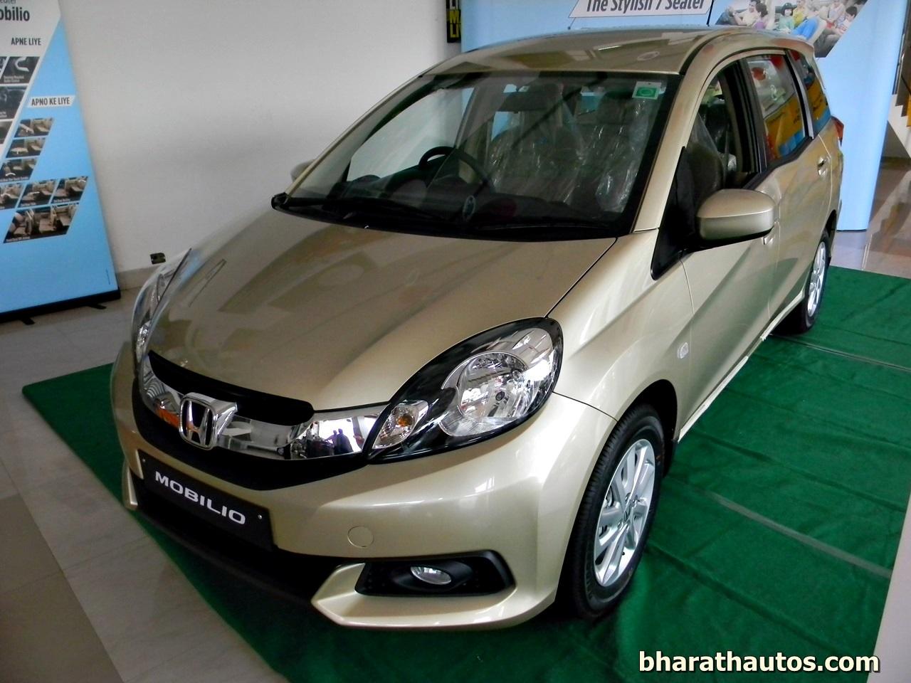 Honda Cars India launched the 7-seater Honda Mobilio MPV ...