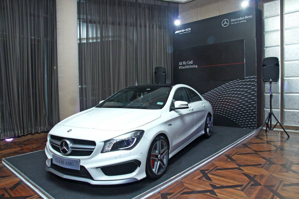 Mercedes Benz Cla 45 Amg Launched In India Price Starts